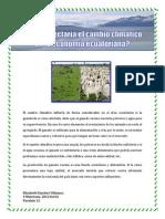 Sanchez Villamar _ El Cambio Climático en La Economía Ecuatoriana