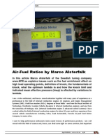 RRI School of Performance Air-Fuel Ratios