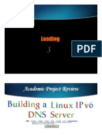 Building Linux IPv6 DNS Server