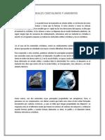 Materiales Cristalinos y Amorfos