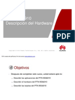 1) PTN 950&910 Hardware Description (Espanhol)