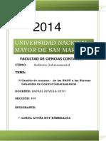 Normas Generales de Control Gubernamental Rut Esmeralda Ojeda Acuña