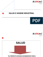 Higiene Industrial y Valoracion de Riesgos Ocupacionales