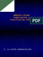 America Latina Urbanizacion y Planificacion