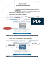 Manual Para Perícia Médica Concurso PEB II 2013/2014 SP