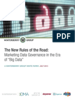 Winterberry Group White Paper -- Marketing Data Governance