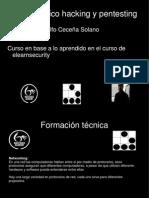 3.- Formación Tecnica