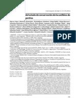 Categorización Del Estado de Conservación de Los Anfibios de Argentina