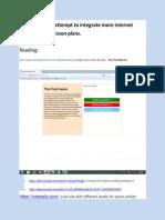 sample internet integration