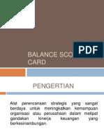 Balance Scored Card