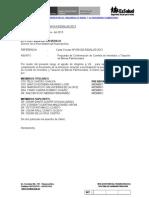 Carta a Direccion