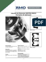 Aplicação de Válvulas de Retenção RK - GESTRA DISCO