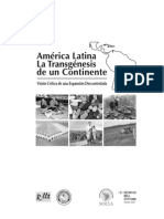 América Latina - La Trasgénesis de Un Continente