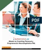 Master Coaching Personal Programacion Neurolinguistica