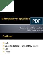 Mikroba Penyebab Infeksi Pada Organ Indera_2013