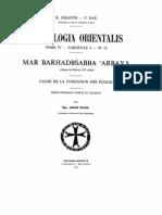 Patrologia Orientalis Tome IV - Fascicule 4 - No.  18- Graffin - Nau