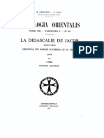 Patrologia Orientalis Tome VIII - Fascicule 5 - No. 40 - F. Nau - La Didascalie de Jacob Texte Grec ancien