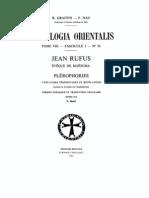 Patrologia Orientalis Tome VIII - Fascicule 1 - No. 36 - Graffin - Nau