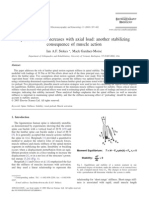 Spinal Stiffness Increases Axial Load