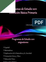 Programas de Estudios y Plan de Estudios