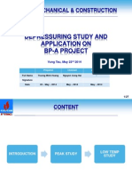 Depressuring Study and Application on BP-A Project