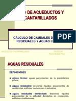 Cálculo de Caudales de Aguas Residuales y Pluviales