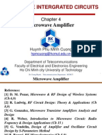 Chapter4 Microwave Amplifier