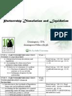 05 Partnership Dissolution