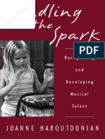 Kindling the Spark - Recognizing and Developing Musical Talent