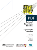 National Review of School Music Education Augmenting the Diminished (2006)