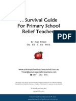 Survival Guide for Primary School Relief Teachers