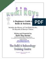 Reiki 1 St Degree Guide