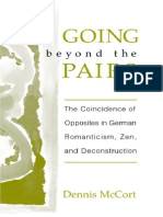 Dennis McCort-Going Beyond the Pairs_ the Coincidence of Opposites in German Romanticism, Zen, And Deconstruction (2001)