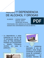Abuso y Dependencia de Alcohol y Drogas