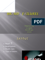 Brand Failure