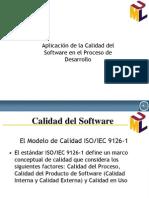 Calidad deSoftware