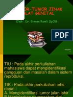 Tumor Jinak Alat Genital