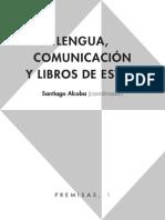 Alcoba - Lengua, Comunicacion y Libros de Estilo