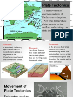 plate tectonics lesson