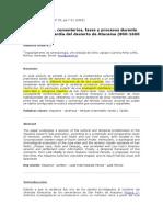 Uribe, M. 2002. Sobre Alfarería, Cementerios, Fases y Procesos Durante La Prehitoria Tardía Del Desierto de Atacama (800-1600 DC). Estudios Atacameños 22.7-31.