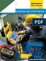 Guía de Medición de Aislamiento _ 50 v a 5000 VDC _ 2010 - Ed. 01 _ CHAUVIN ARNOUX GROUP