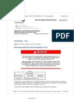 SR4B Generators _ Insulation Test _ SIS CAT
