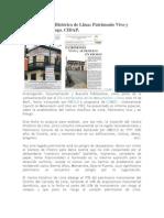 Informe Centro Histórico de Lima