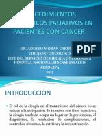 Cirugia Paliativa en Pacientes Con Cancer