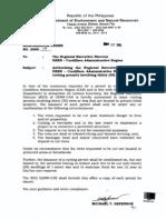 DENR Memorandum No-2005-19. - Cutting Permit in Private Lands