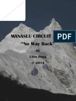 Manaslu Circuit No Way Back