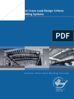 Structural and Crane Load Design Criteria for Building Systems