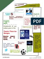 Periódico Escolar Montessori 1