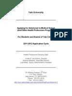 Applying to Med School Handbook