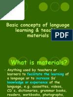 classroom teaching materials